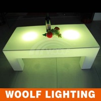 LED modern dining table retractable dining table