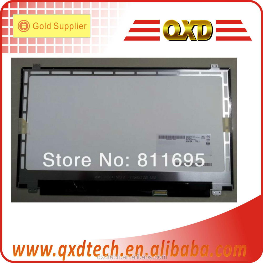 Spare part 40 pins LED Laptop screen HDMI TFT LED notebook di 15.6'' B156XTN02.0 1366*768 Glossy