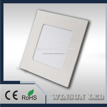 6W SQUARE GOOD QUALITY LED PANEL LIGHT