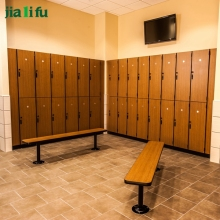 JIALIFU factory direct sale durable hpl wood gym lockers