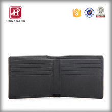 Wholesale mens genunine leather wallet travel purse