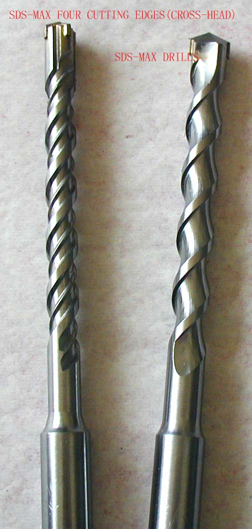 SDS Plus standard flute eletric hammer drill bits 8*160mm