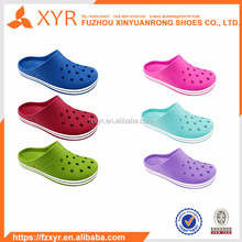 XYR dirt-resistant lady holey soles shoes with massage granules