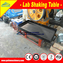 Economical lab shaking table/ dressing shaker for titanium ore testing