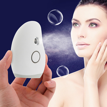 Facial Sprayer Ultrasonic Nano Spray Portable handy Facial Steamer Hydration Face Sauna Systems Skin Care machine for Travel