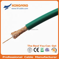 China hot selling high quality 75ohm coax cable Kx6 coaxial cable