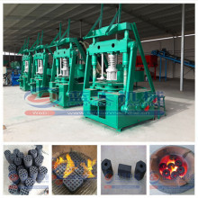 Large capacity high efficiency honeycomb briquette machine