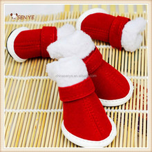 Fashion and durable Special design Christmas Dog Shoes Factory