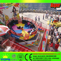 outdoor playground fun games theme park amusement ride disco tagada for sale