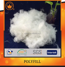 100% recycled poly fill for garment