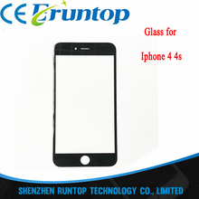 High Quality A+ Front Glass Outer Lens Touch Screen for iPhone 4 4s