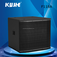 High Quality dj Sound Box Amplifier with Woofer made in China for Outdoor Using Theater