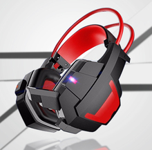 Wired headband gamer stereo headset headphone factory, the headset of made in china