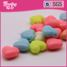 Bead Landing Wholesale Custom Heart Shaped Plastic Beads