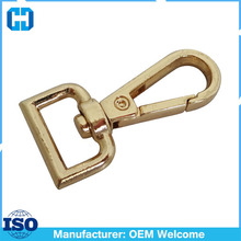 13mm (Strap Wide) Push Gate Metal Swivel Snap Hook Purse Hardware