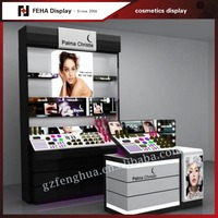 High quality cosmetic kiosk luxury case to display