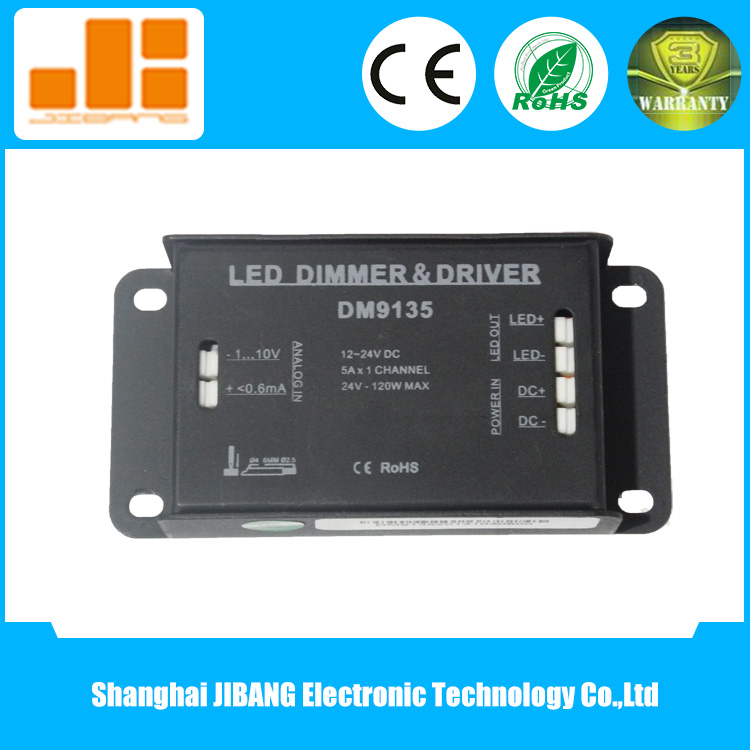 12V 24V DC 0-10V Low Voltage Dimmer for LED Lights