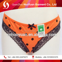 Hottest design woman latex rubber underwear for women of cotton elasti Huoyuan factory