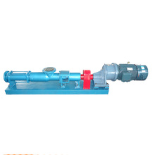 vertical small slurry mud oil transfer capacity screw pump