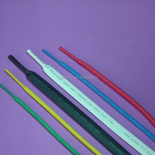 2:1 Black Flame-retardant and flexible polyolefin thin wall heat shrinkable tubing