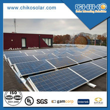 100kw solar roof mounting solar power system solar brackets