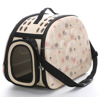High quality lightweight dog cat travel eva pet carrier outside bag