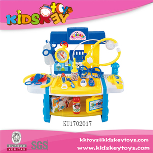 High quality Educational kids medical toys doctor play set