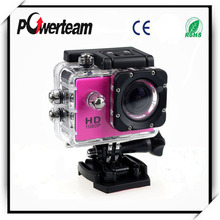 "2""inch HD 1080P helmet mini sports camera 30M waterproof outdoor action camera"