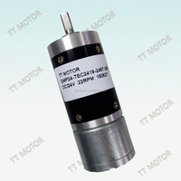 brushless 12v 24v dc gear motor can be with encoder