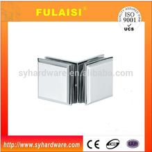FUALISI NEW Desigen 90 degree double sides fix glass clamp