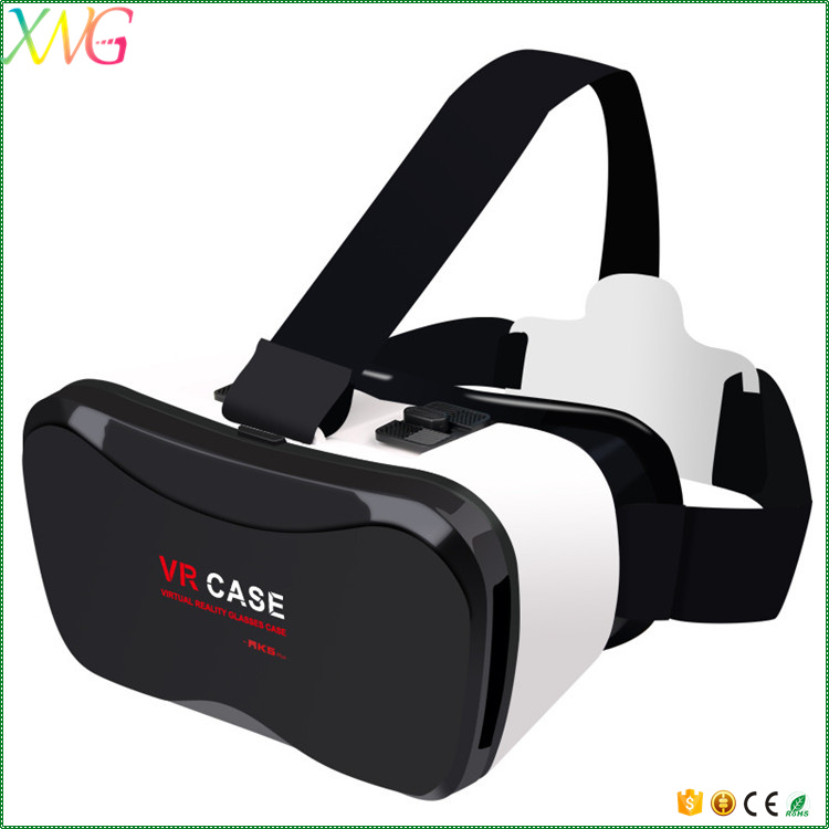 Factory Wholesale virtual reality vr box 3d glasses vr case 5 plus for Android iOS Cell Phone