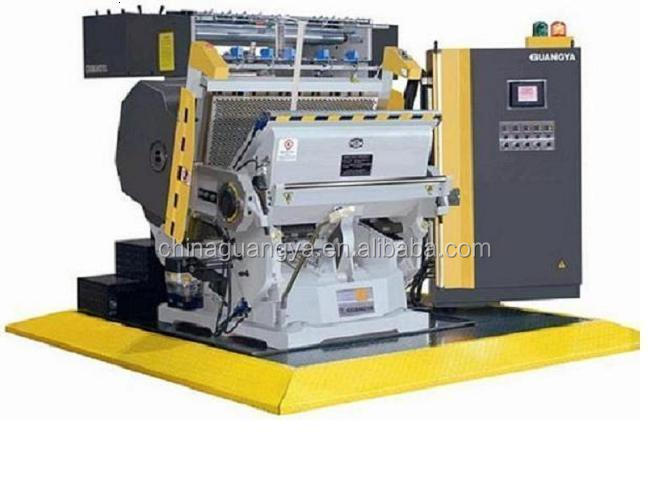 Hologram Positioning Computerized Industrial Die Cutting and Gold Foil Hot Stamping Machine