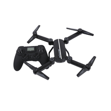 2017 New Pocket Drone with 2MP Camera, Foldable Dron with Height Hold, RC Quadcopter Controled by Android IOS Remote Controler