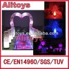 colorful inflatable led lighting star / led inflatable / party decoration