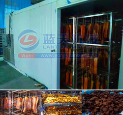 High quality meat drying machine sausage drying room bacon dryer