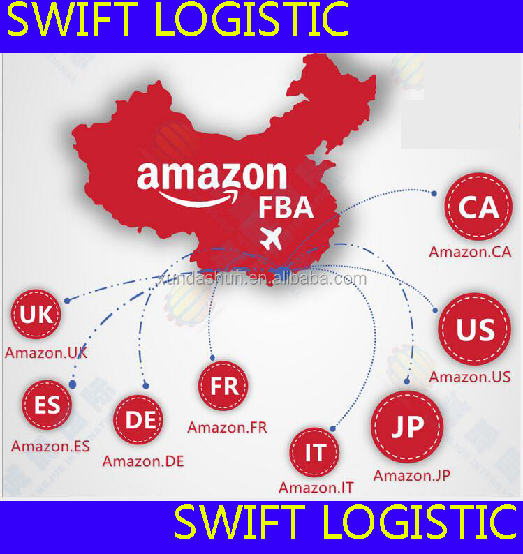 Tianjin freight forwarder shipping from China to USA/UK Amazon FBA -----Skype ID : cenazhai