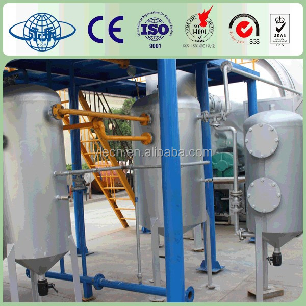 Environmental protection waste tire pyrolysis equipment