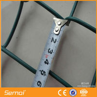 high quality low price tension wire chain link fence (ISO)