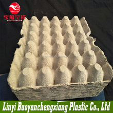 Paper pulp recycling egg tray and egg carton
