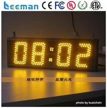 led time controller led timer stopwatch 7 segment led large digital wall clock time display