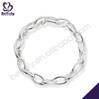 hot sale costume silver jewelry motorcycle chain link bracelet