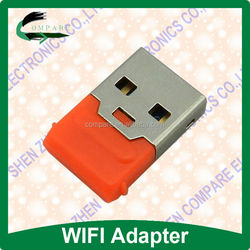 Comapre 150mbps mini usb wifi adapter MT7601 lan to wireless adapter LAN 802.11b/g/n