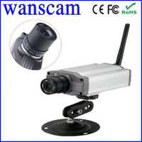 CMOS Wireless Box Indooor Video CCTV Security Camera IP