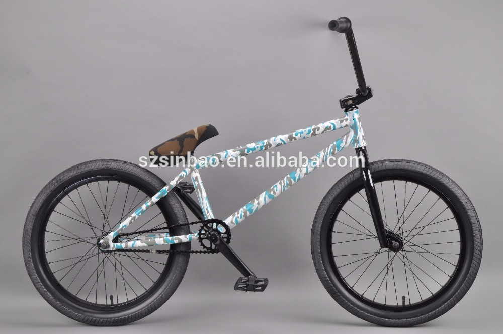 Full chromoly 4130 double butted camouflage BMX Bike frames aluminium mountain bike