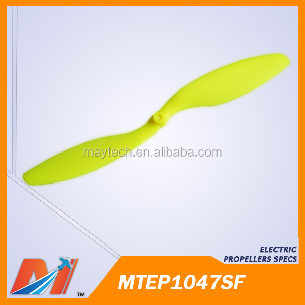 wholesale Maytech Slow Fly Plastic Propeller 10x4.7inch for RC model airplane uav Cheap China toy