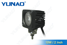 mini 10W mini 10W square work lights for motorcycle van, ATV LED work light