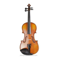 Flamed Violin With Ebony Accessoreis Tongling Musical Instruments In Violin TL003-2