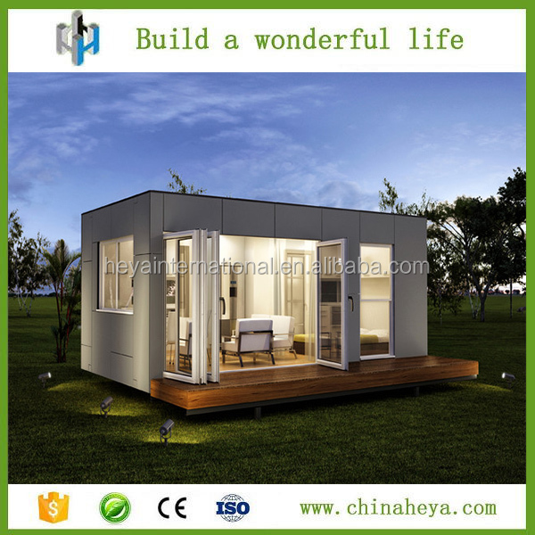 Quake-proof portable 20ft single layer cottage Dubai container house