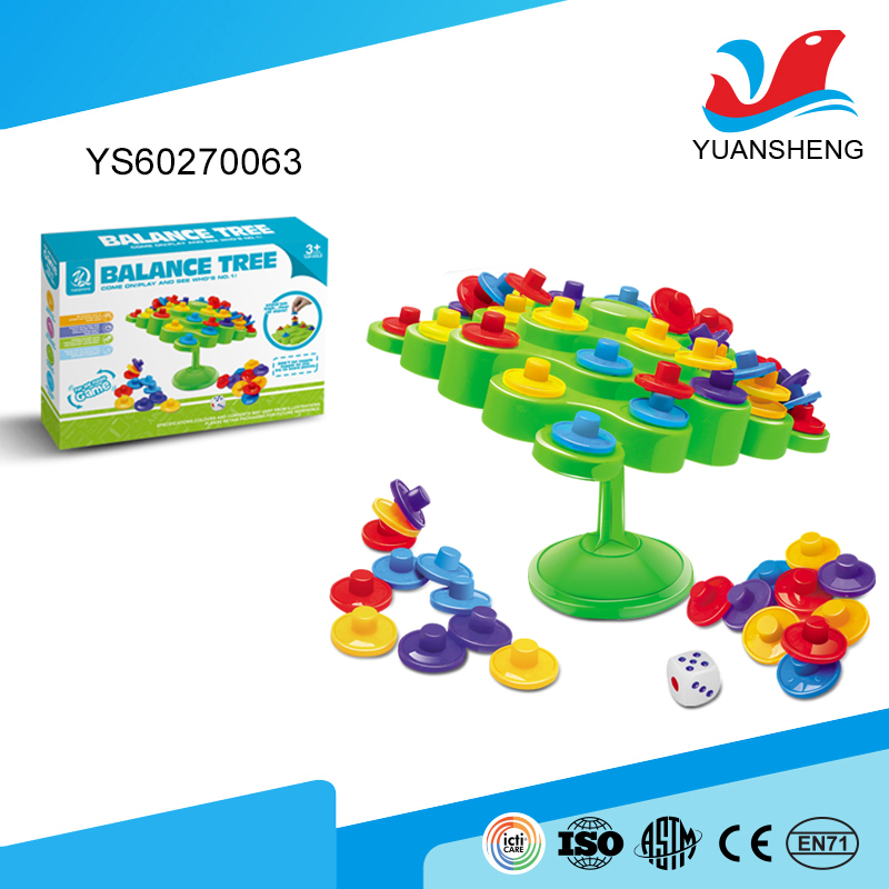 china market funny family interactive game plastic balance toy for indoor play