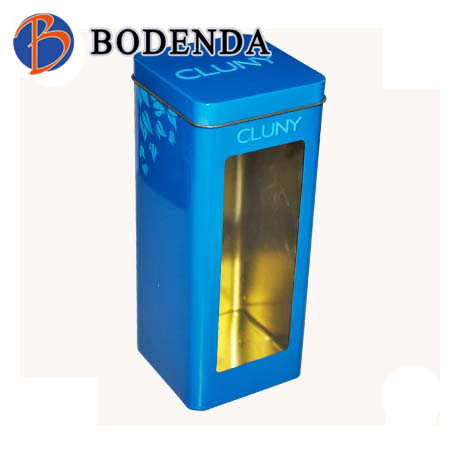Top producer tin pasta packaging box rectangular tin storage box tinbox pasta noodle packaging box